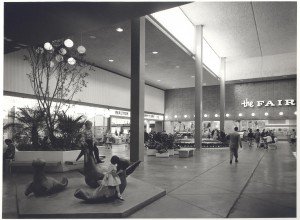 "Montgomery Ward at Randhurst Shopping Mall ""Then"""