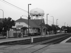 Modern Train Station Mount Prospect IL